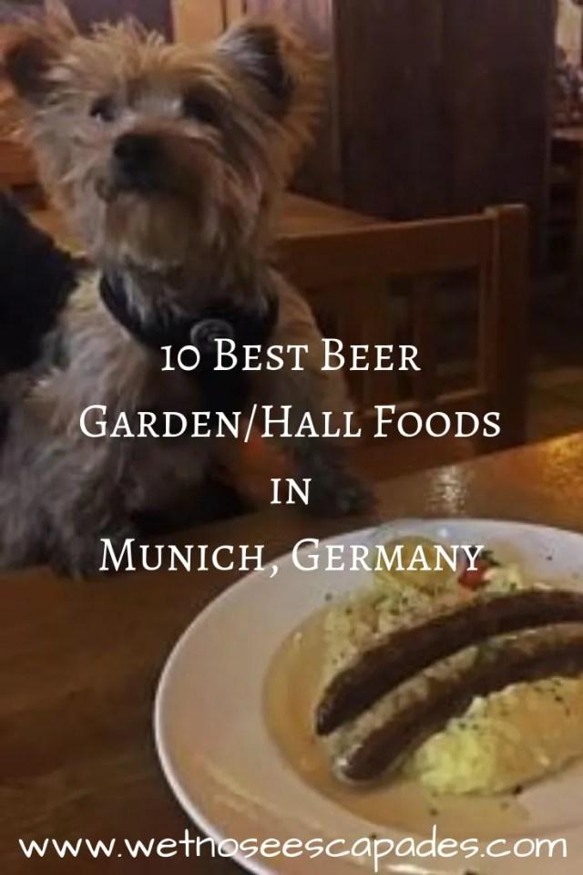 10 Best Beer Garden/Hall Foods in Munich, Germany