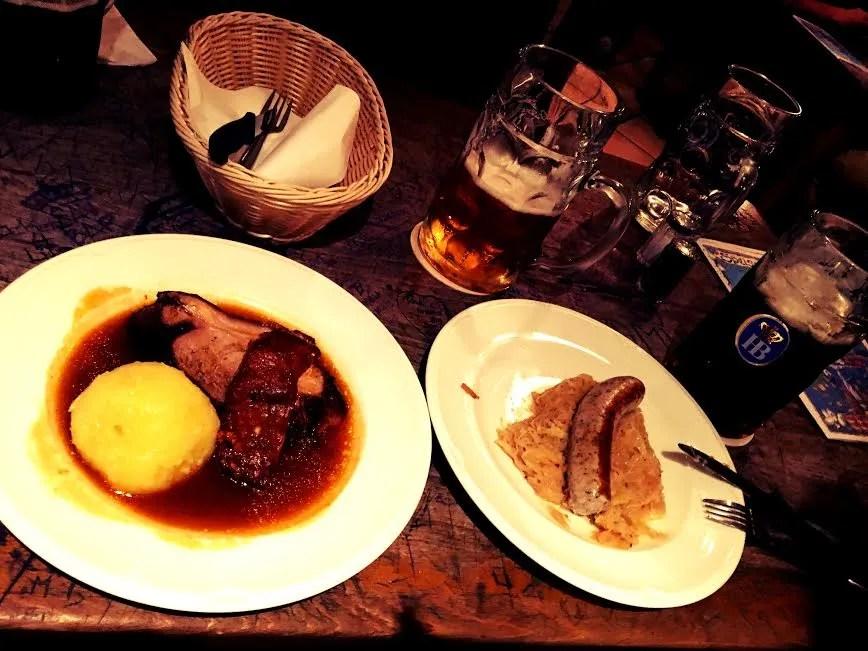 10 Best Beer Garden/Hall Foods in Munich