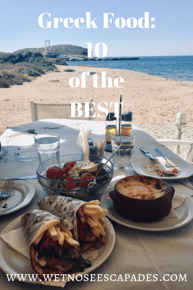 Greek Food: 10 of the BEST!