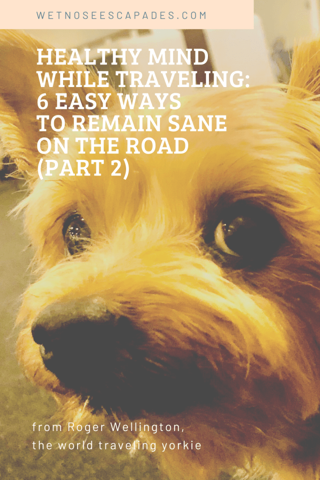 Healthy mind while traveling: 6 EASY ways to remain sane on the road (PART 2)