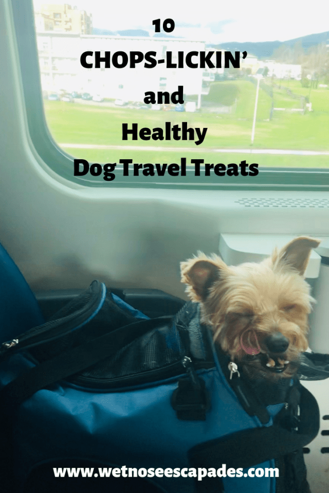 10 PAW-LICKIN' and healthy dog travel treats
