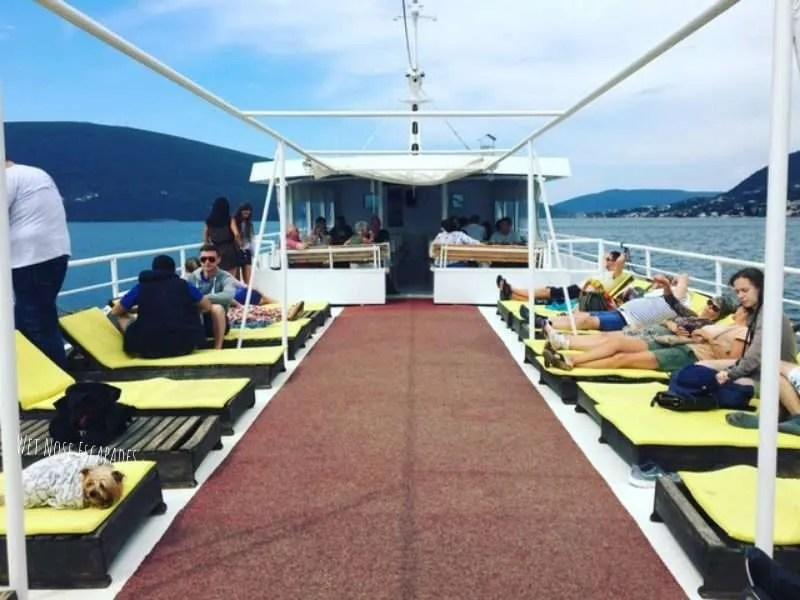 dog friendly cruises montenegro