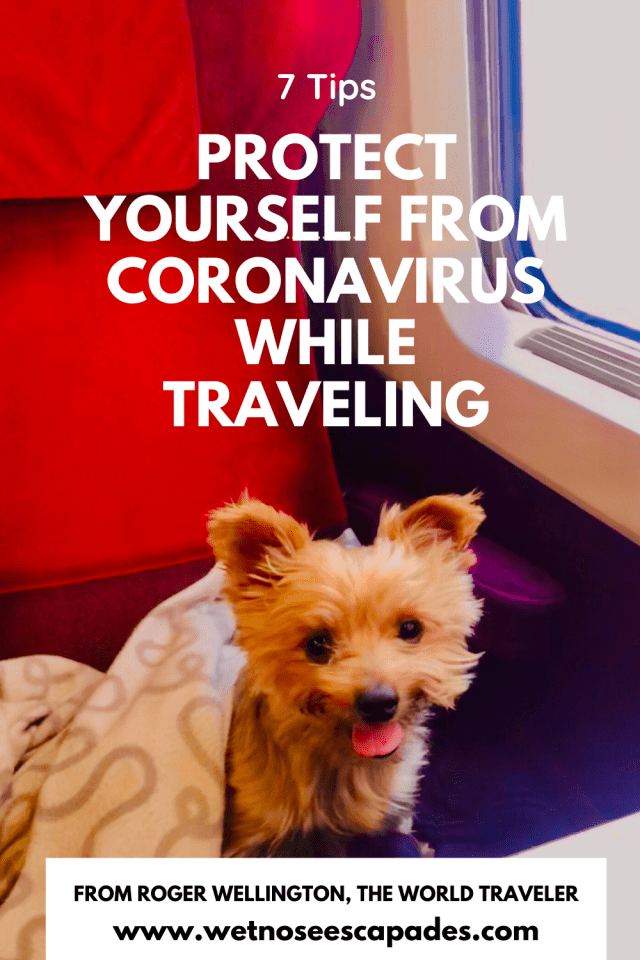 Protect yourself from coronavirus while traveling