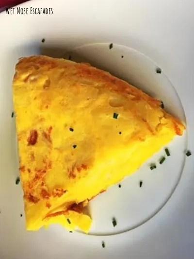 spanish omelette, 10 BEST Tapas in Barcelona, Spain