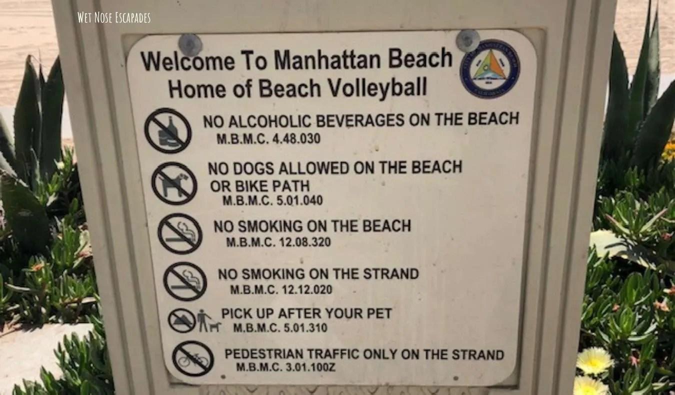 Manhattan Beach CA Dog-Friendly Beach Rules