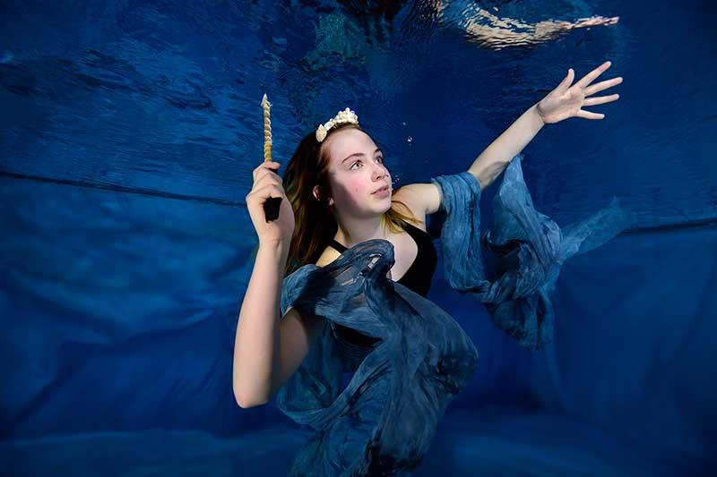 Onderwaterfotoshoot Zeemeerminnen