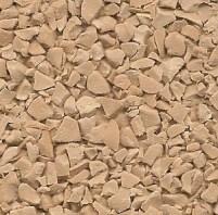 Beige colour of wet pour rubber granules no resin