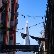 The Shard from Maltby Street Market