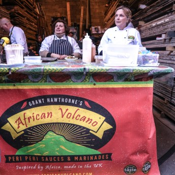 African Volcano at Maltby Street Market