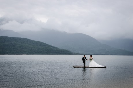 Wedding photography at Đầm Cầu Hai Lagoon Vietnam WeTravelinLove