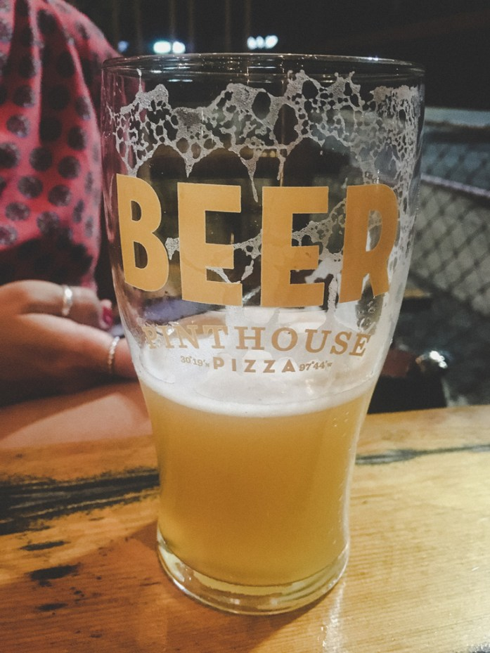 Beer at Pinthouse and Pizza