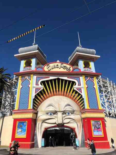 Best things to do in Melbourne Australia Abby Lewtas Luna Park St Kilda
