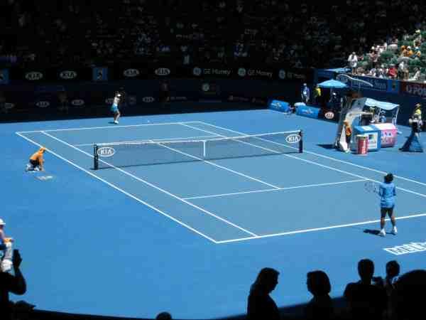 Melbourne Australia Abby Lewtas Australian Open Tennis