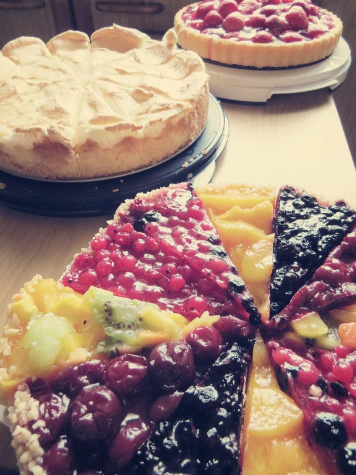 Selbstgemachte Kuchen runden das Essen ab!. Danke!