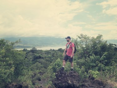 Blick auf die Laguna Arenal