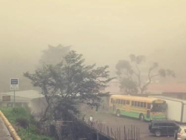 Der Nebel in Santa Elena kann binnen Sekunden entstehen, sich aber auch binnen Sekunden wieder verflüchtigen