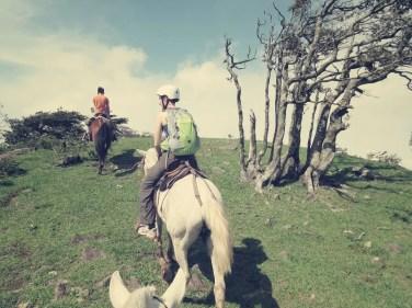 Die letzten Meter zur Aussicht über Monteverde