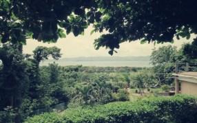 Blick vom Blue Dream Hotel - Bahia Salina