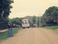 """El Jobo """"Zentrum"""" - mit unserem Bus"""