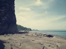 Eine Bucht nach der anderen erstreckt sich an der Bahia Jobo