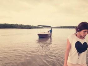 Mit dem Boot ging's durch die Mangroven vom Parque Nacional Marino Las Baula