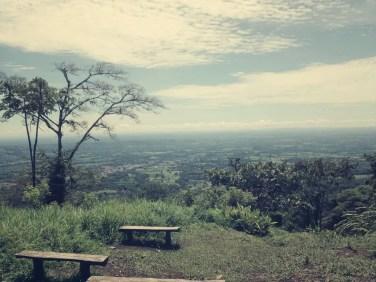 Nice view über La Fortuna