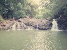 Drittes Wasserfallbecken