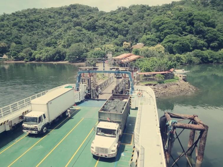 Fähre nach Puntarenas
