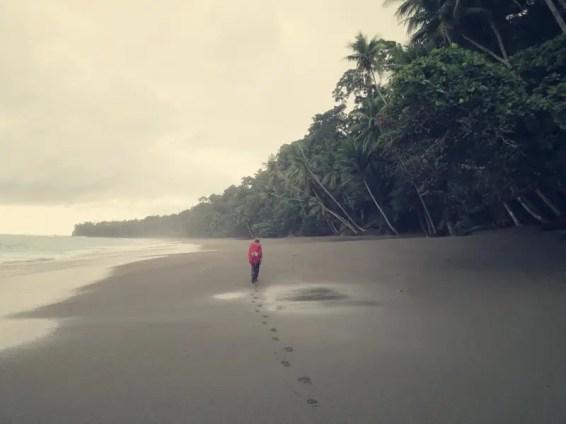Keine Spuren mehr vor uns. Wo ist der Weg?