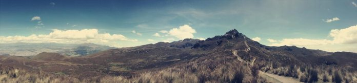 Der Hausvulkan von Quito - Rucu Pichincha