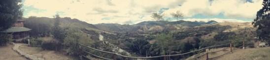 Blick auf Vilcabamba