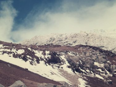 Cotopaxi Gletscher