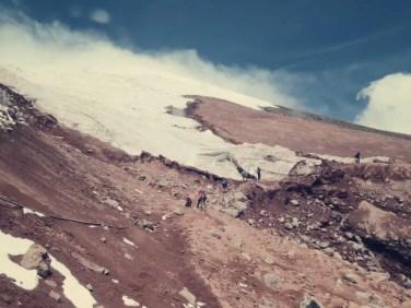 Gletscher Anfang