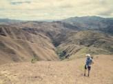 Izhcayluma Loop - Blick ins Tal