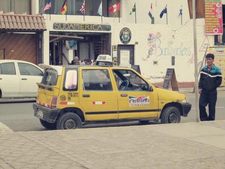 Überall diese süßen Taxis