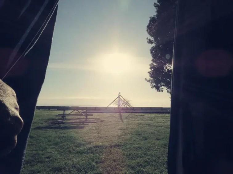 Good Morning! - Campsite Kaiaua