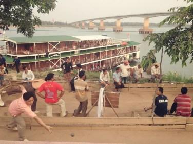 bambusbrücke kampong cham koh paen