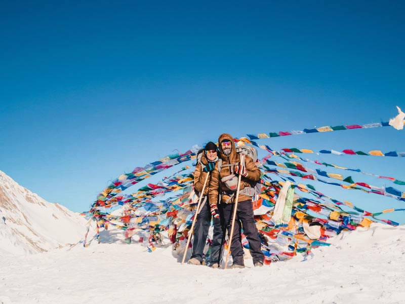 Annapurna Circuit Runde Thorong La Pass