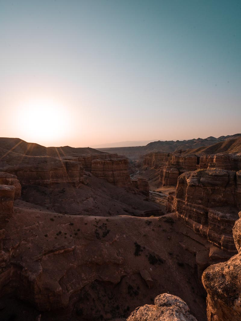 Charyn Canyon Kasachstan Reisetipps