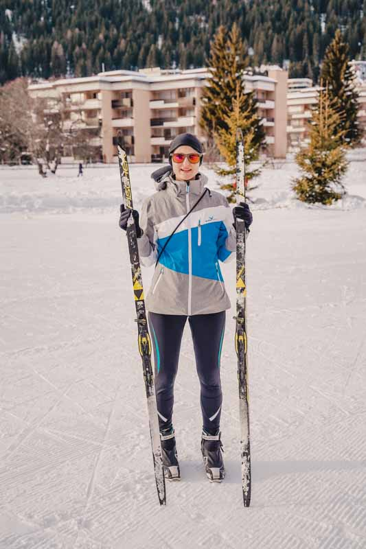 Cross-country voorproefje cursus bij Davos-activiteiten
