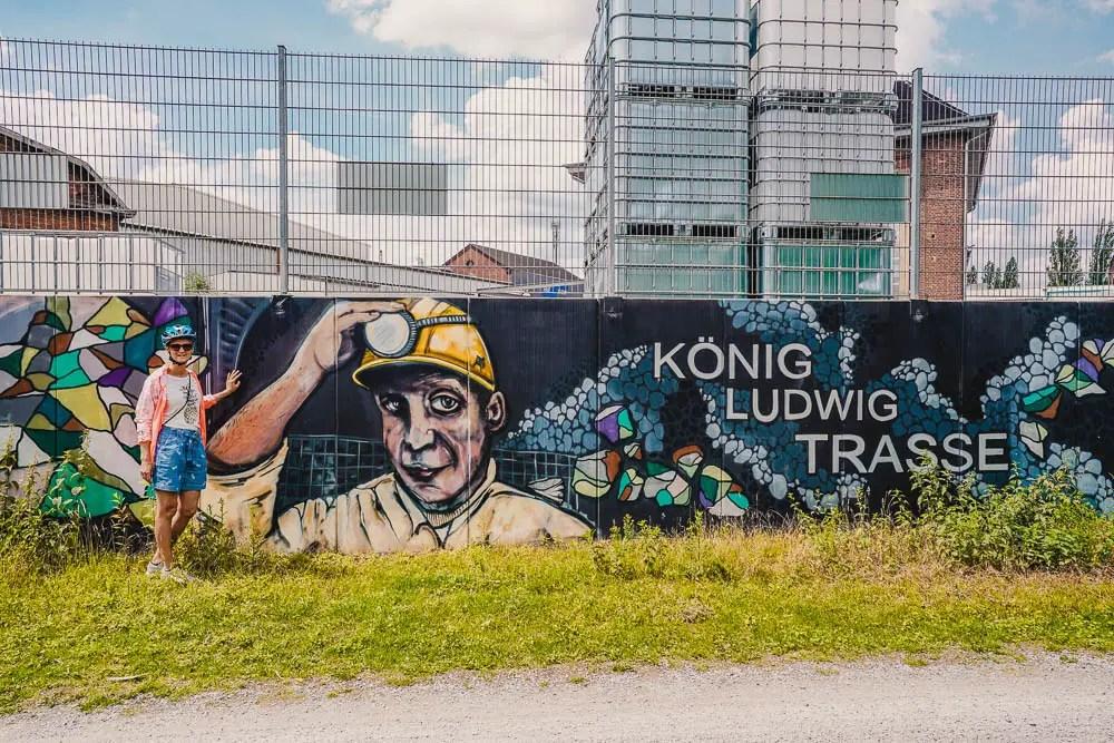 Fietstocht Ruhrgebied - Koning Ludwigroute