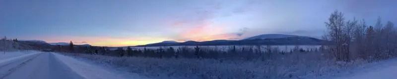 Polarnacht Lappland