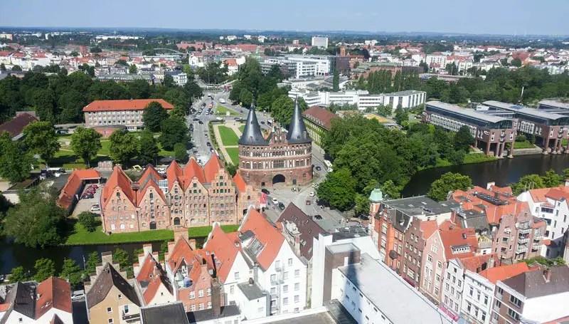 Lübeck Aussicht