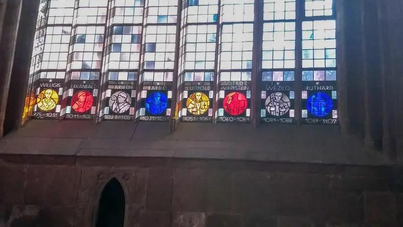 Mainzer Dom Fenster
