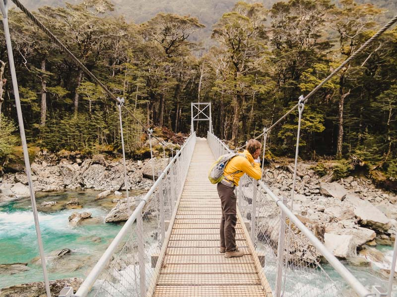 Neuseeland Wanderungen Routebourn Track