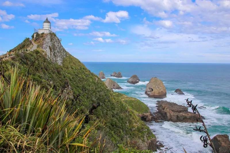Leuchtturm in Neuseeland