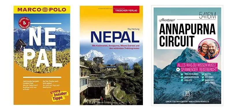 Nepal Reiseführer und Nepal Trekking Guide