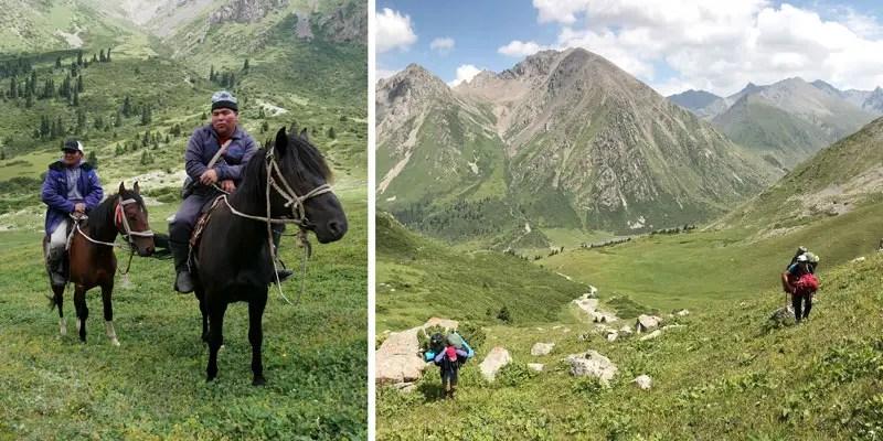Reiter in Kirgistan