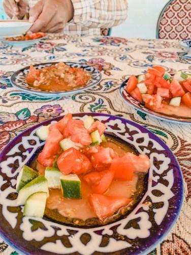Usbekisches-Essen