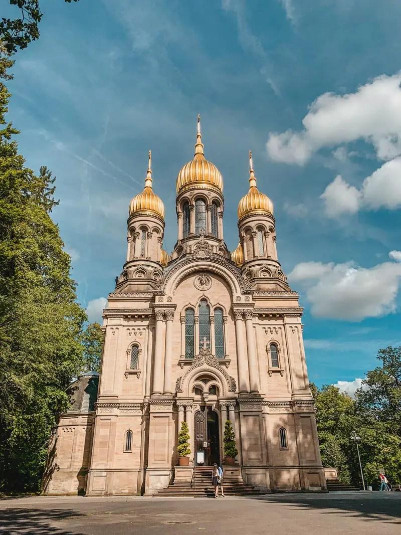 Wiesbaden Sehenswürdigkeiten – Russisch Orthodoxe Kirche Neroberg